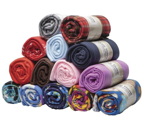 50 X 60 Fleece Throw Blanket Assorted Styles At Menards