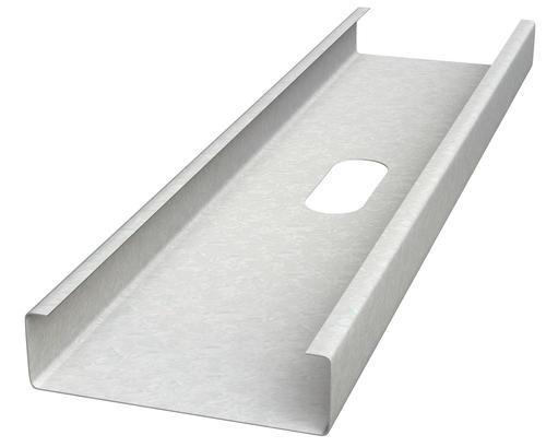 8 16 Gauge Csj5 Interior Exterior Galvanized Steel Wall Framing Stud At Menards