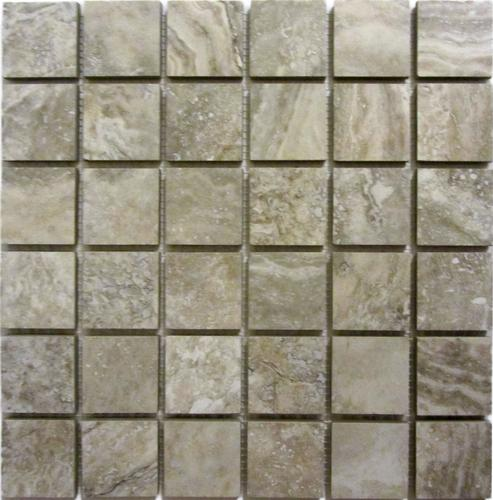 Florim USA Millennium Stone X Glazed Porcelain Mosaic Tile At - 8 x 12 bathroom tiles