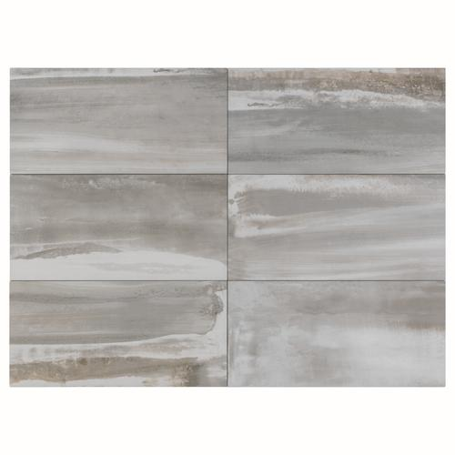 Florim USA Milled X Porcelain Floor And Wall Tile At Menards - 6 x 12 white porcelain tile