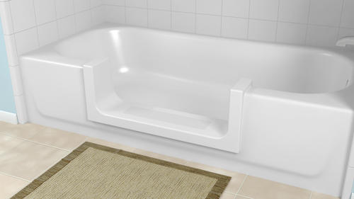Cleancut Bathtub To Step In Shower Conversion Kit At Menards
