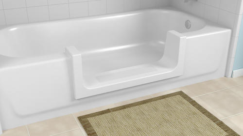 Cleancut Wide Bathtub To Step In Shower Conversion Kit At