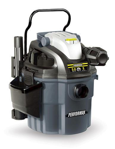 performax® 5 gallon 5.0 peak hp wall mount wet/dry vacuum at menards®