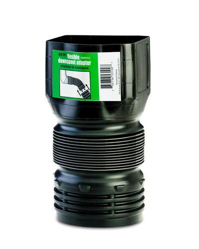 Flex Drain 3 X 4 X 4 Downspout Adapter At Menards