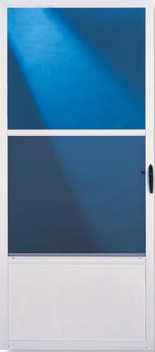 Menards Screen Doors. ClimateRite 36  x 80 White Self Storing Aluminum Storm and Screen Door at Menards