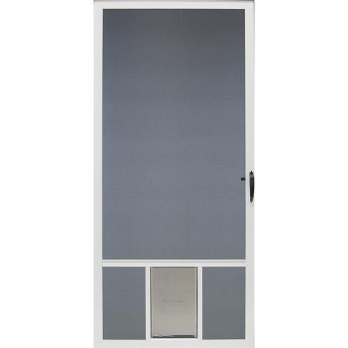 ClimateRite Pet Breeze™ Full View Screen Door At Menards®
