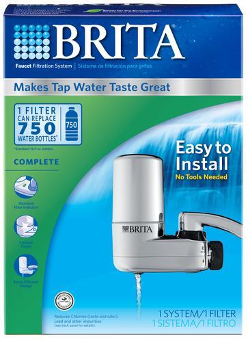 Brita® Complete Faucet Filtration System at Menards®