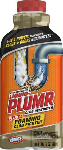 Liquid Plumr Liquid Foaming Clog Fighter 17 Oz At Menards