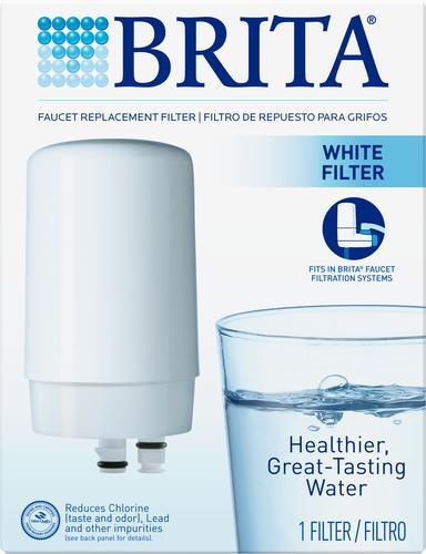 Brita® White Faucet Mount Replacement Filter at Menards®