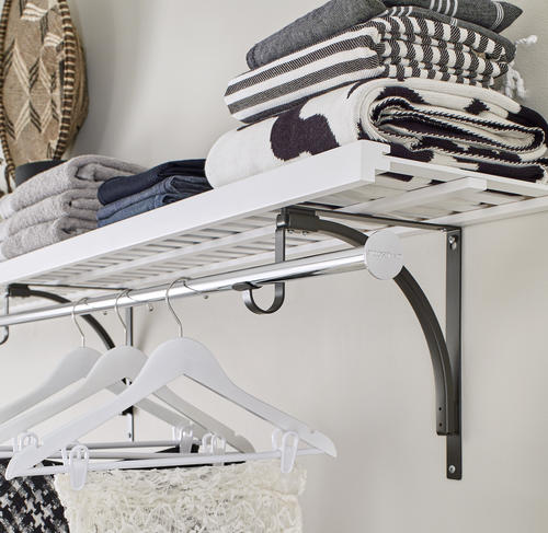 ClosetMaid® Premium Ventilated Wood Shelf Kit At Menards®