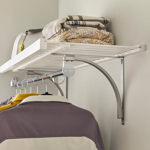 ClosetMaid® Premium Wood Shelving Universal Shelf Support ...