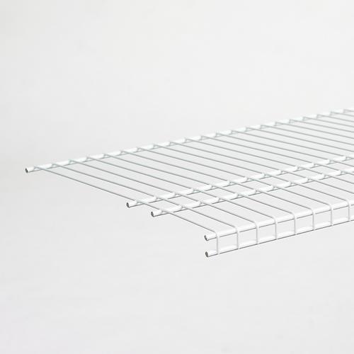 CLOSETMAID SuperSlide 72 W x 16 in White Ventilated Wire Shelf Steel Storage