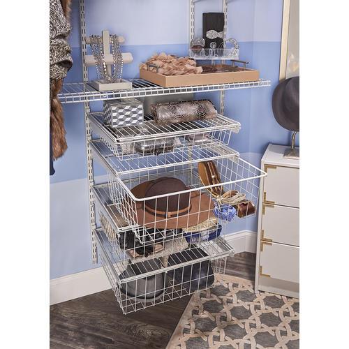 Closetmaid Shelftrack 4 Drawer Kit At Menards