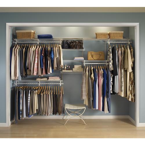 ClosetMaid® ShelfTrack® Wire Closet Kit At Menards®
