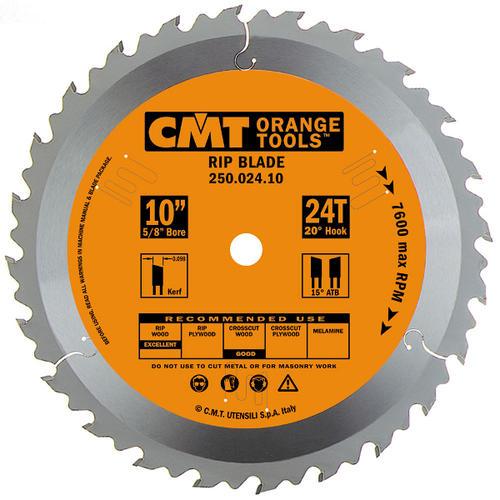 Cmt 10 X 24 Tooth General Purpose Circular Saw Blade At Menards