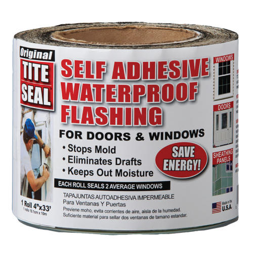 Self-Adhesive Window Flashing Tape - Asphalt Base at Menards®