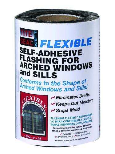 Flexible Self-Adhesive Window Flashing Tape - Asphalt Base at Menards®