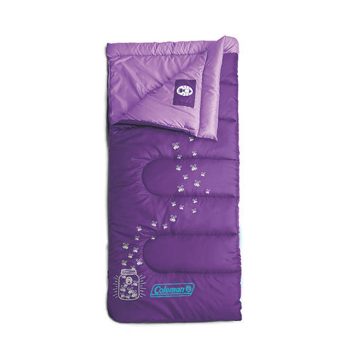 Coleman Glow In The Dark Youth Sleeping Bag Assorted