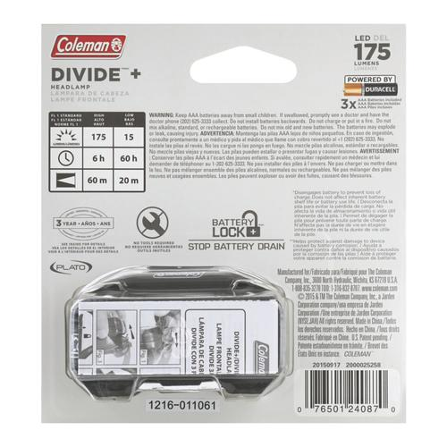 Menards® Lumen At Divide Led 175 Coleman™ Headlamp O8kPNnwX0