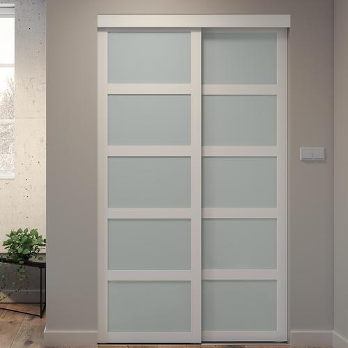 Frosted Gl Sliding Door Model Number 04880co479 Menards Sku 4132796