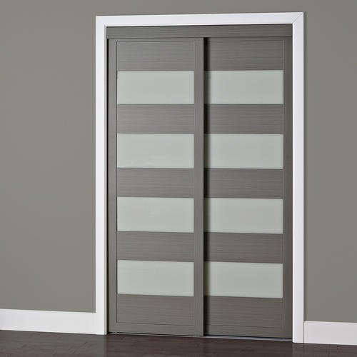 Colonial Elegance 4 Lite Framed Frosted Glass Sliding Door At Menards®