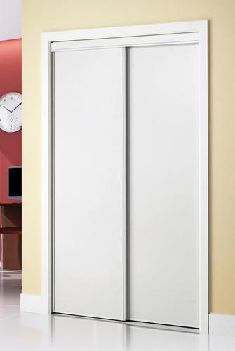 & Colonial Elegance® Hardboard Framed Sliding Door at Menards®