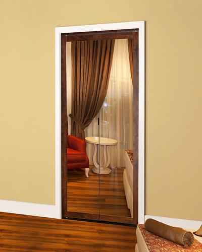 "Colonial Elegance® Fusion 36"" x 80-1/2"" Framed Mirrored Bi-Fold Door"