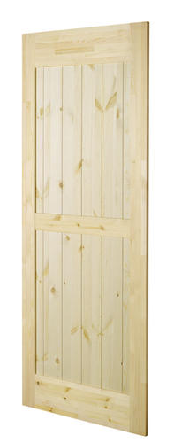 Colonial Elegance Ranch Model Knotty Pine Barn Door At