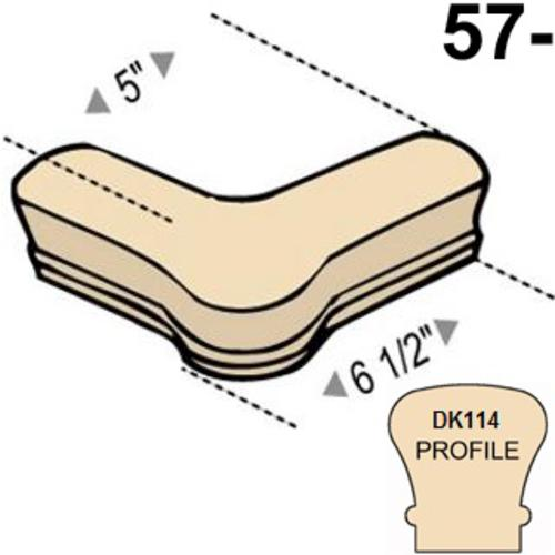 x9 mastercraft wiring diagram mastercraft traditional dk114 oak quarter turn stair handrail with  dk114 oak quarter turn stair handrail