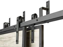 Colonial Elegance 174 Black Bypass Bracket For A Double Barn