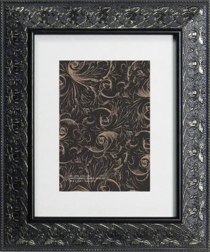 8 x 10 black plastic picture frames