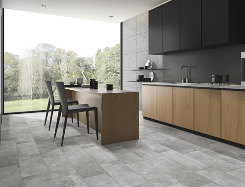SnapStone® 12 x 24 Interlocking Porcelain Floor Tile at Menards®