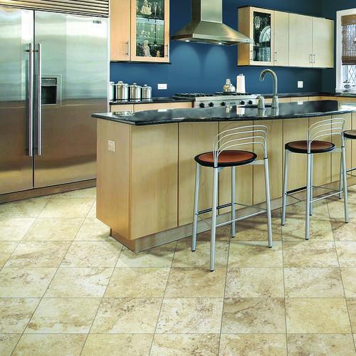 SnapStone® 12 x 12 Interlocking Porcelain Floor Tile at Menards®