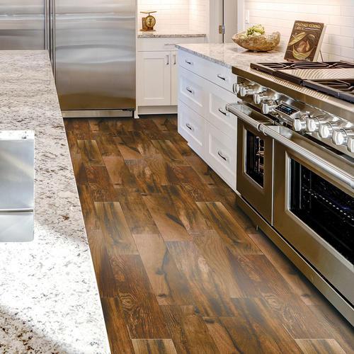 SnapStone® 6 x 24 Interlocking Porcelain Floor Tile at Menards®