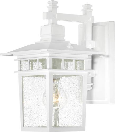 1 Light White Outdoor Wall At Menards