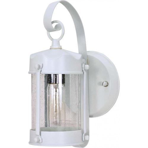 Photon 1-Light 10.625'' White Outdoor Wall Light