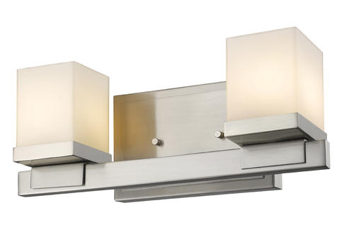 2-Light Nickel Vanity