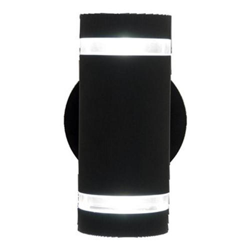 Adrienne 2 Light Matte Black Outdoor Wall Sconce