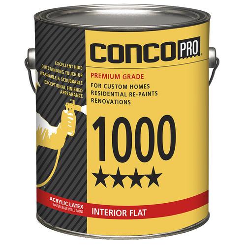 Conco Pro® 1000 Interior Flat Acrylic Latex Wall Paint at Menards®