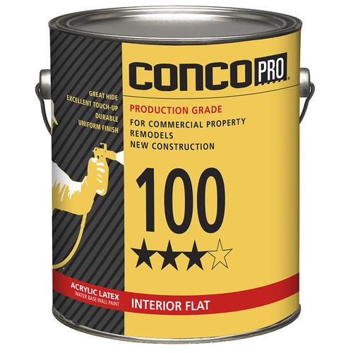 Conco Pro 100 Series Interior Acrylic Latex Water Base Wall