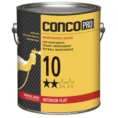 Beau Conco Pro® 10 Series Interior Acrylic Latex Water Base Wall Paint At  Menards®