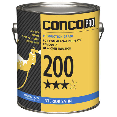 Acrylic Interior Paint: Conco Pro® 200 Series Interior Acrylic Latex Water-Base
