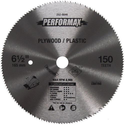 Performax 6 1 2 Circular Saw Blade At Menards