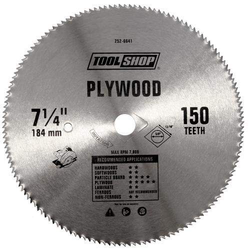 Tool shop 7 14 circular saw blade at menards greentooth Gallery