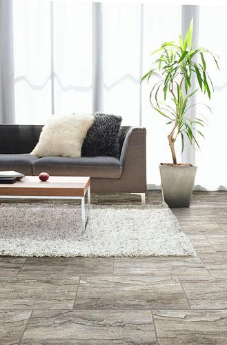 Congoleum DuraCeramic Dimensions Stone Ledges X Vinyl Tile - Durastone flooring reviews