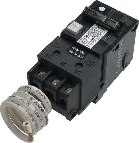 Siemens Type Qf 2 Pole 20 Amp Gfci Circuit Breaker At Menards