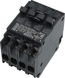Siemens Type QT Tri-Plex Circuit Breaker w/Two Individual 1-Pole and One common Trip 2-Pole (Class CTL 20A/20A/2P30A)