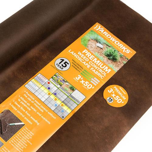 yardworks 3 x 50 premium landscape fabric at menards