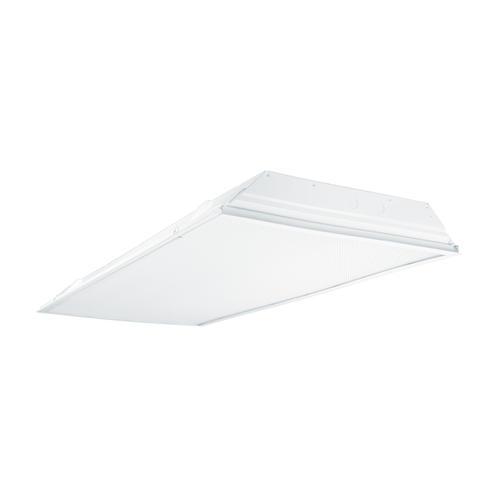 4 X Utilitech Four T8 Fluorescent Bulb: Metalux® Fluorescent 4 X 2 White 4-Light T8 Lensed