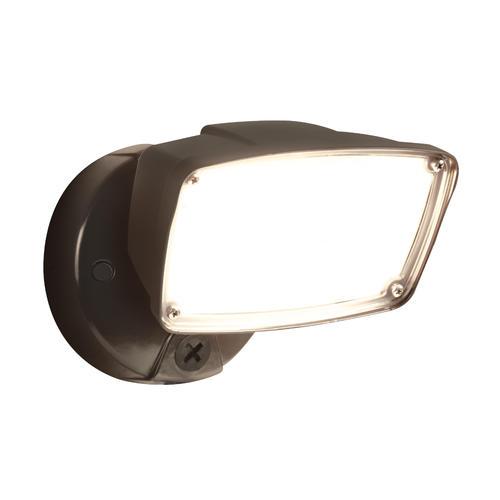 Outdoor Flood Light Bulbs Menards: Halo LED Single Head Outdoor Security Flood Light At Menards®